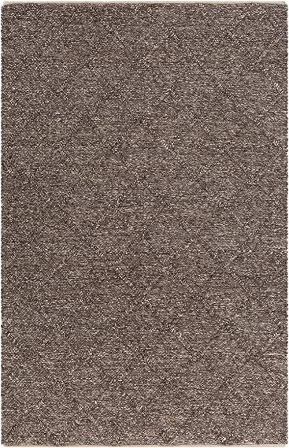 Dark Brown 8×10 area Rug Contemporary area Rug Dark Brown 8 X 10 In 2020