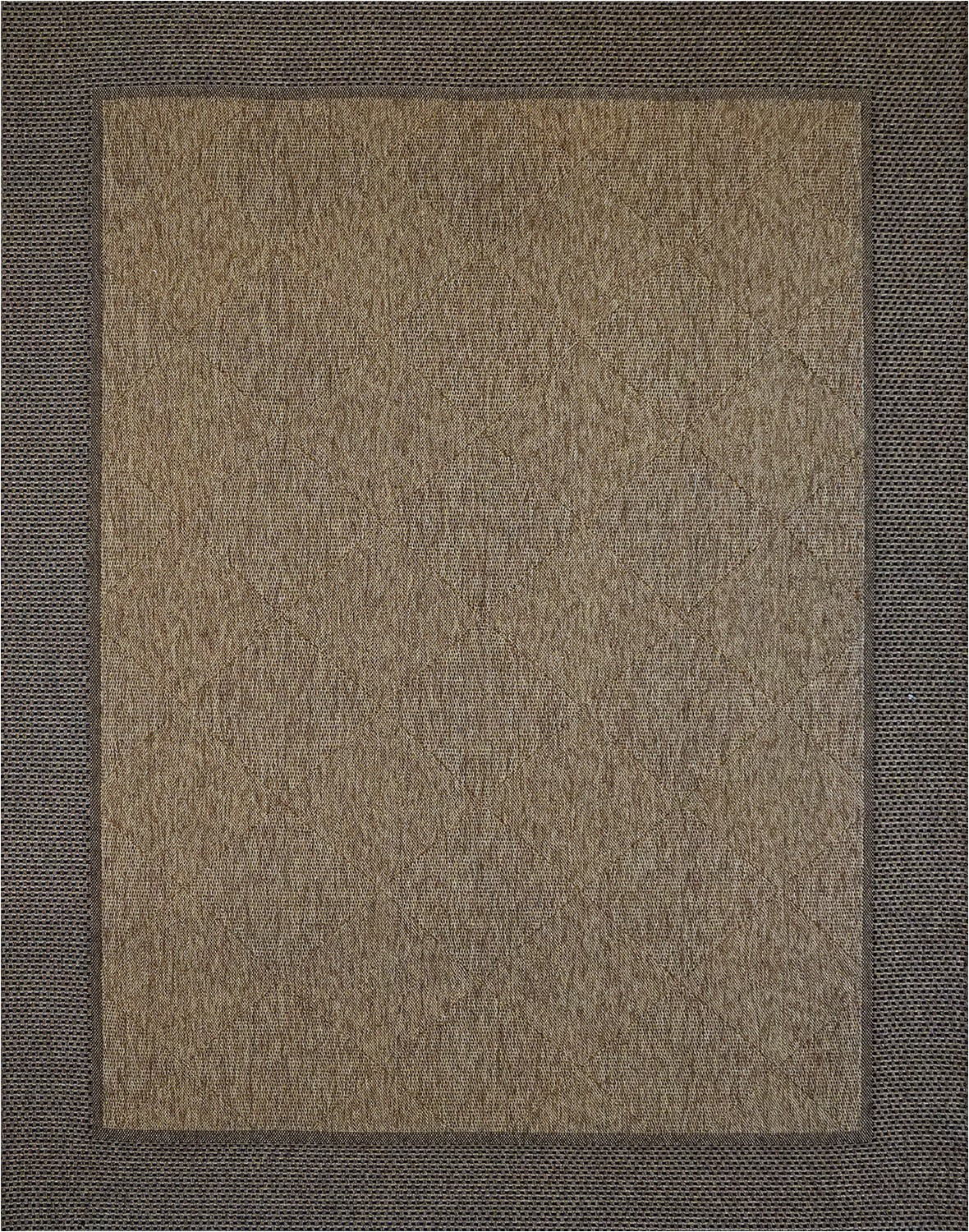 Outdoor 8 X 10 area Rugs Megalo Collection Chestnut Black Rug 8x10
