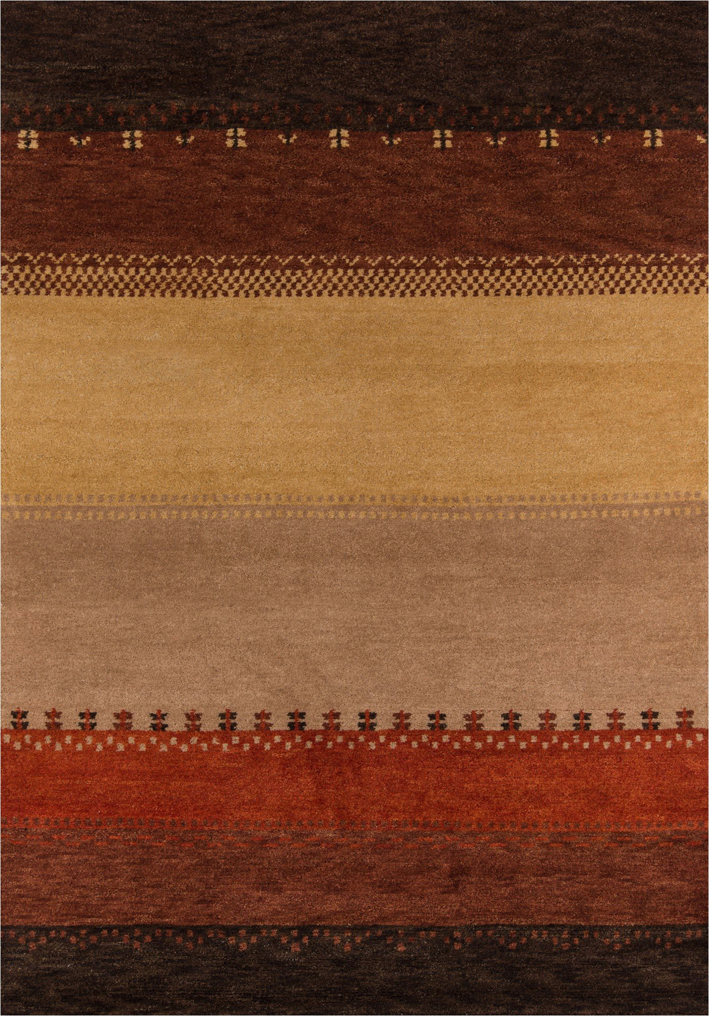 Red Brown and Tan area Rugs Momeni Desert Gabbeh Dg 04 area Rugs