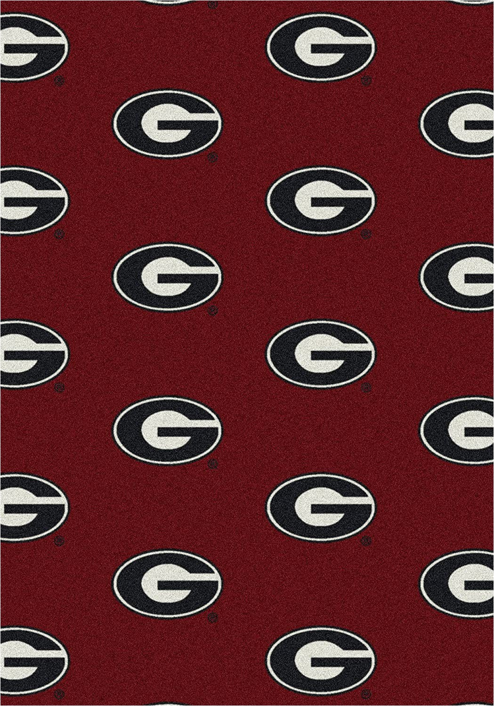 University Of Georgia area Rugs Amazon Georgia Bulldogs College Team Repeat 5×7 Rug