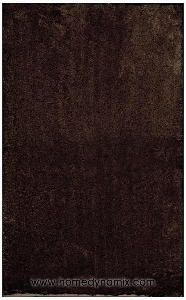 "Chocolate Brown Bath Rugs Home Dynamix Alpine Chocolate Brown Bathroom Mat Absorbent and Ultra Plush 4 21"" X 54"""