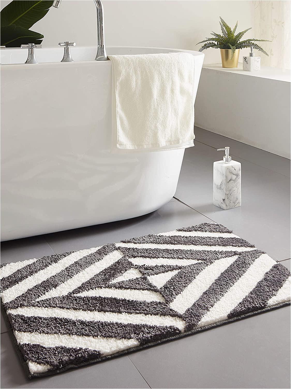 Fluffy White Bath Rug Amazon Desiderare Thick Fluffy Dark Grey Bath Mat 31