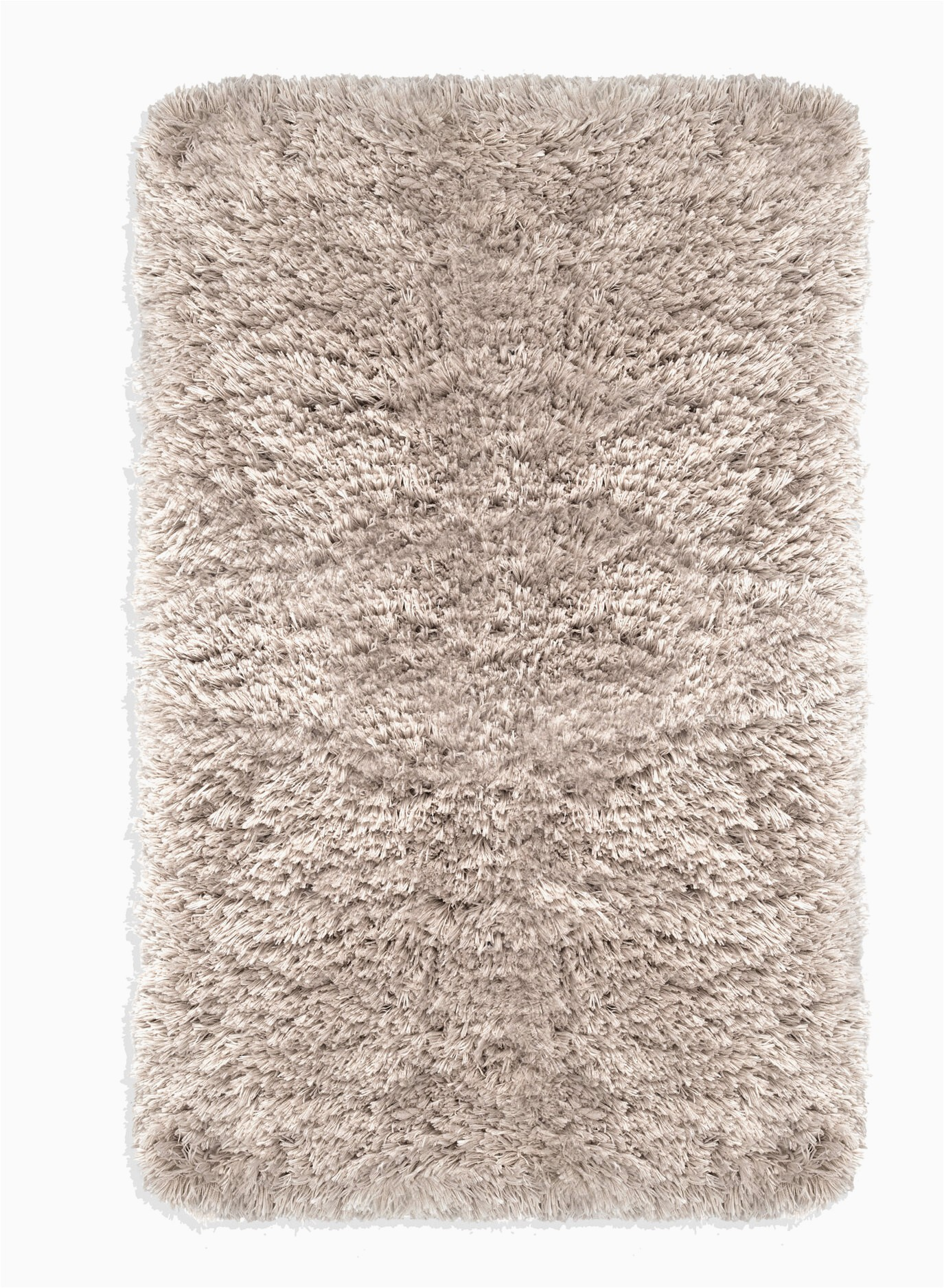Taupe Colored Bath Rugs Gerwalta Rectangular Polyester Non Slip solid Bath Rug