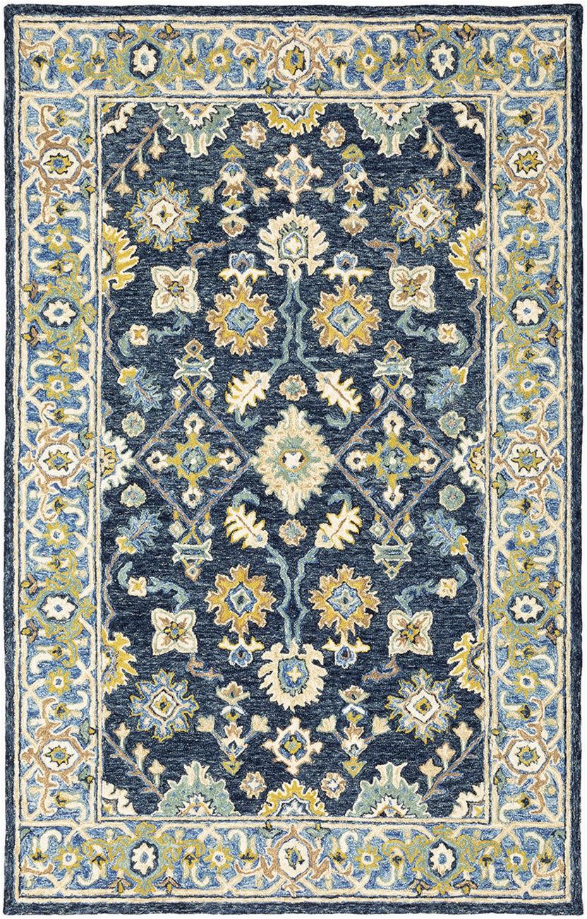 Blue Green oriental Rug oriental Weavers Alfresco Navy Blue area Rug