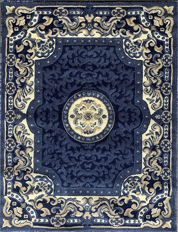 Blue Persian area Rug Amazon Traditional Persian area Rug Navy Dark Blue