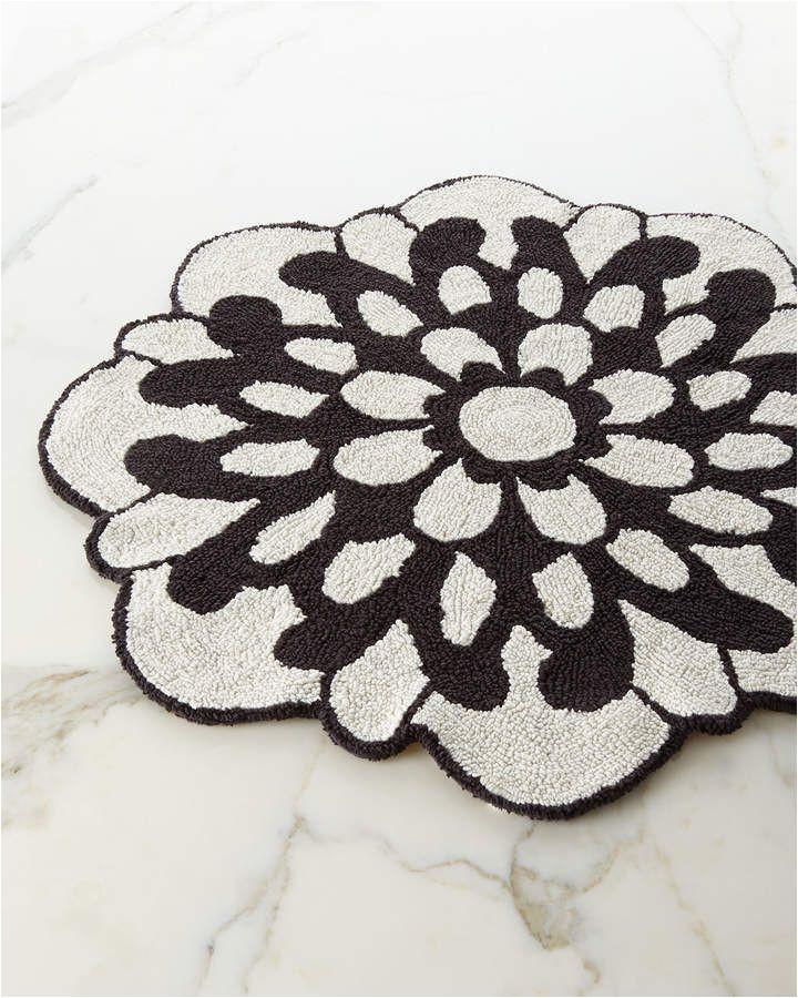 Flower Shaped Bathroom Rugs Missoni Home Otil Reversible Flower Shaped Bath Rug
