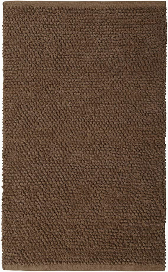 "Gorilla Grip original Luxury Chenille Bathroom Rug Mat Amazon Plush Nubby Coffee 21""x34"" Bath Rug with Home"
