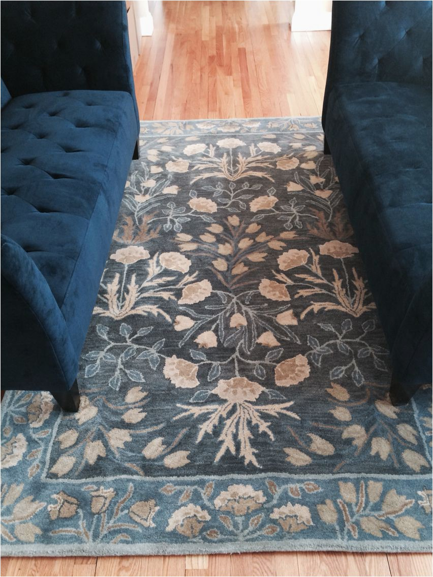 Pottery Barn Navy Blue Rug Blue Adeline Rug From Pottery Barn It S Everything I Wanted