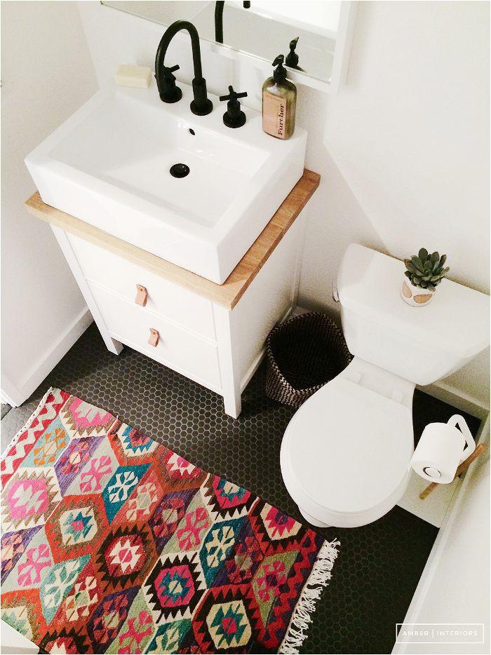 Small oriental Rug for Bathroom Trend Alert Persian Rugs In the Bathroom