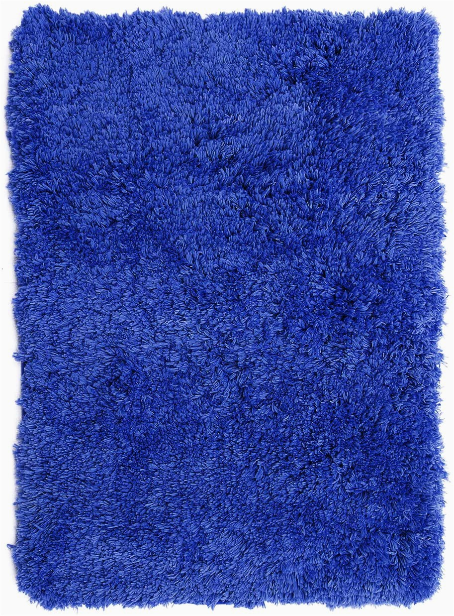 Cobalt Blue Bath Rugs Clara Clark Shaggy Bath Rug with Non Slip Backing Rubber Super soft Bathmat Small 17 X 24 Royal Blue