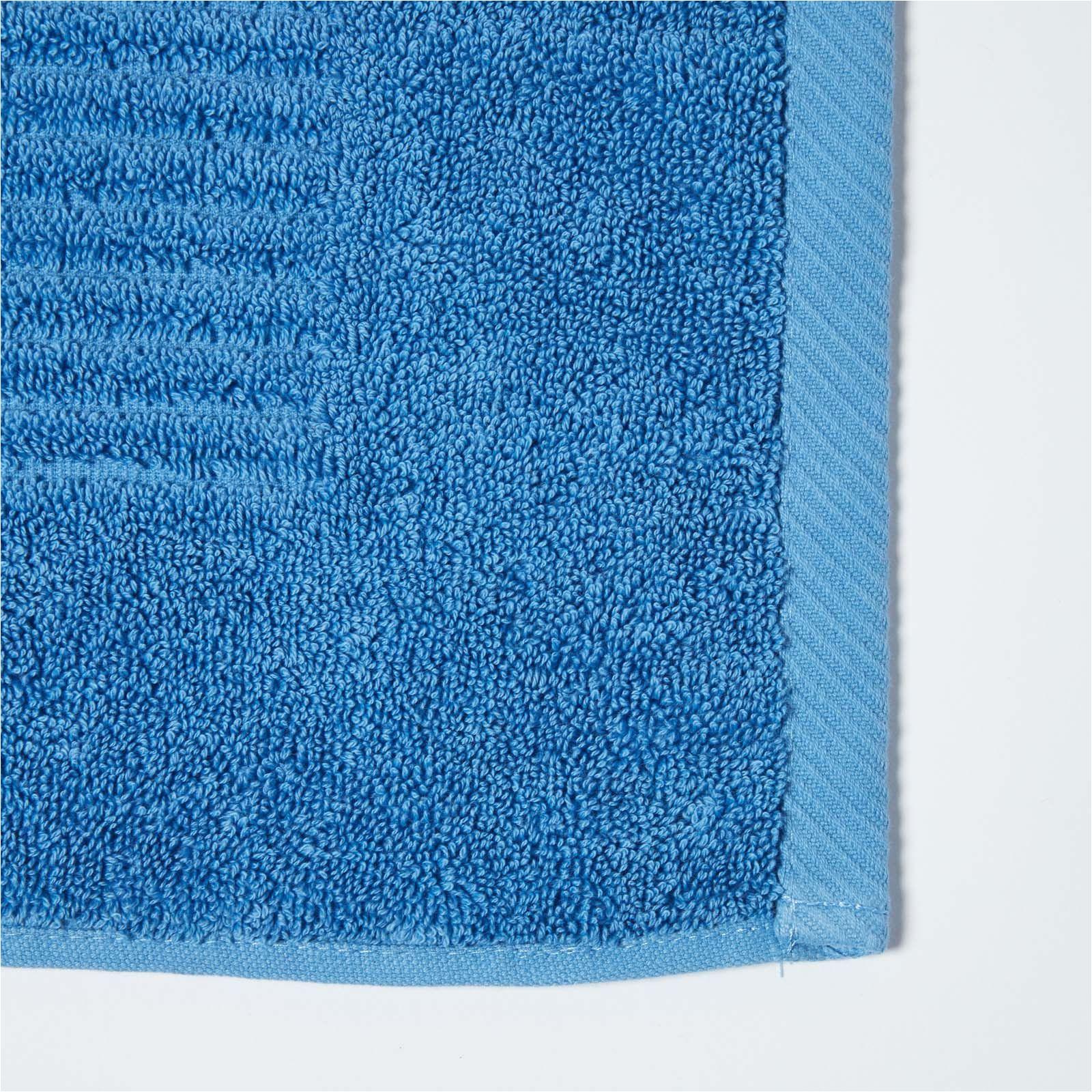 imperial plain bath mat cobalt blue