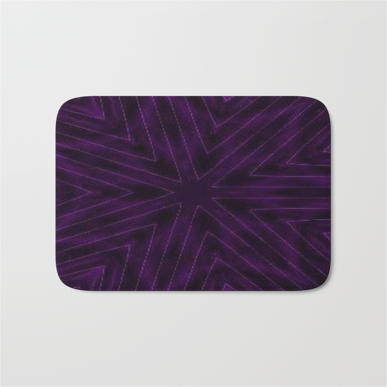 eggplant colored bath rugs