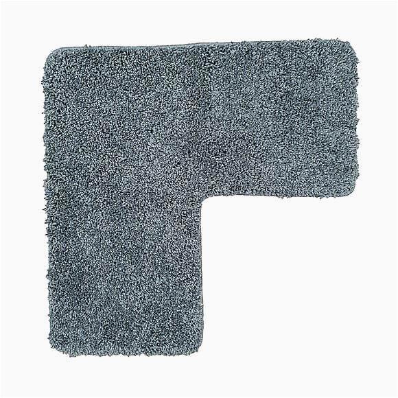 buddy bath antibacterial charcoal l shaped bath mat 1000163629