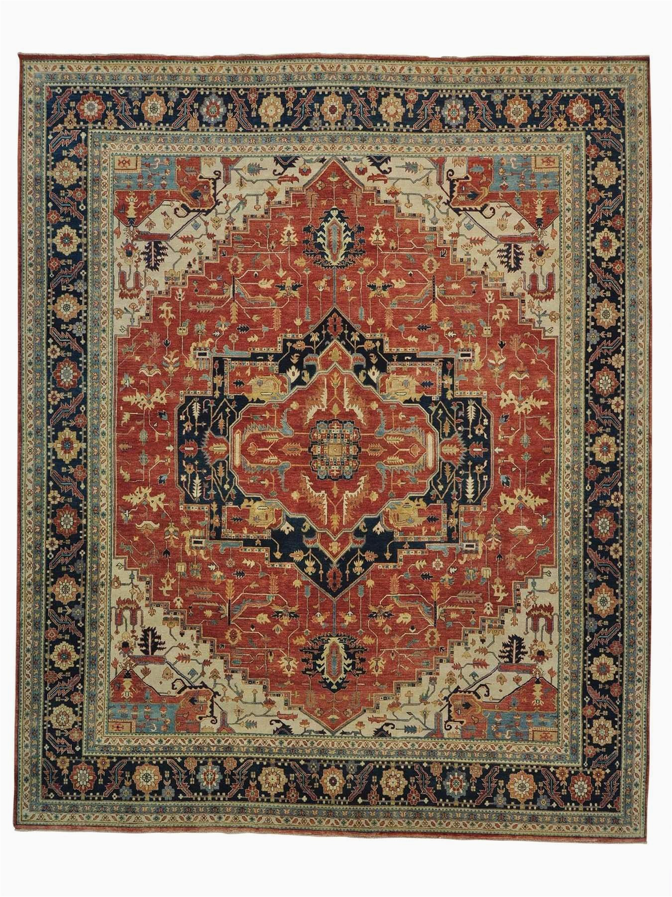 Large area Rugs 12 X 15 12 X 15 Vintage Heriz Gallery Size area Rug