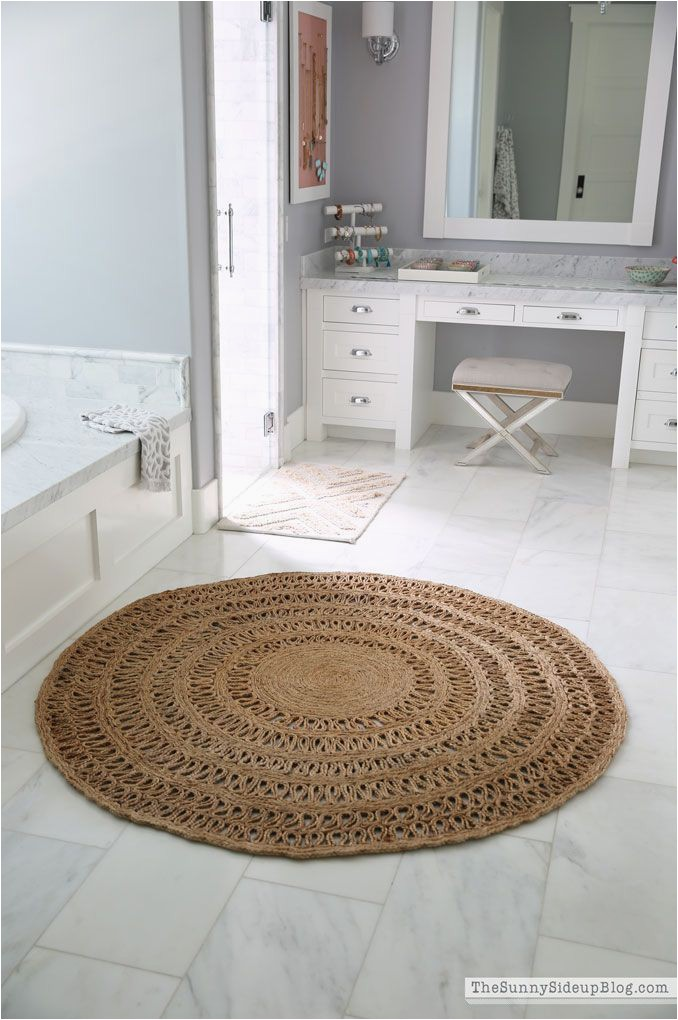 Large Circle Bathroom Rug the Round Jute Rug that Looks Good Everywhere the