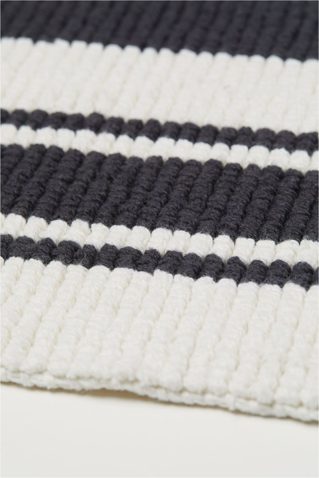 Navy and White Bath Rug Pdp In 2020