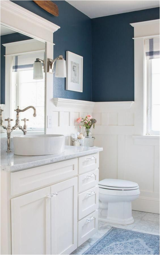 Navy Blue and White Bathroom Rugs Navy Bathroom Rug