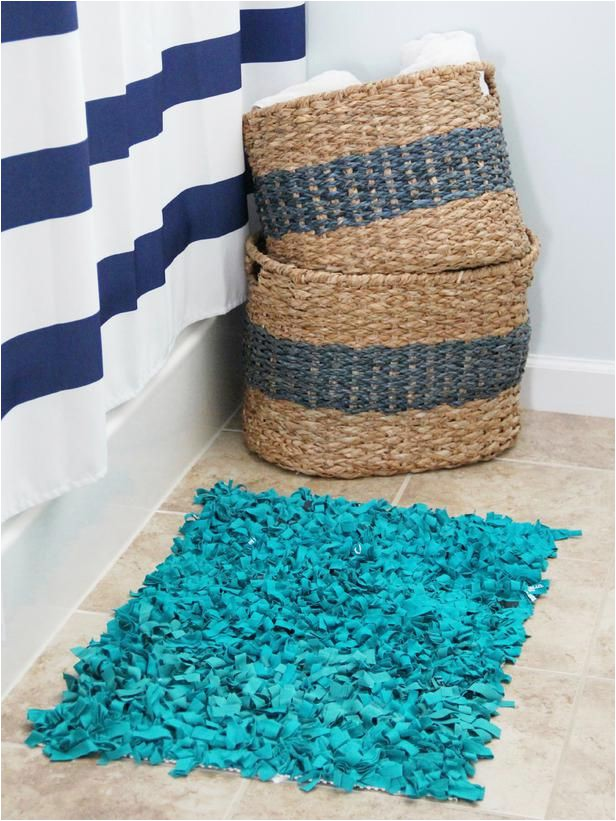 Rag Rug Bath Mat 6 Easy Diy Rug Projects
