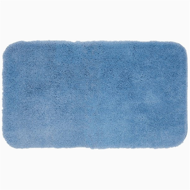 Sky Blue Bathroom Rugs Mohawk Home Pure Perfection Sky Blue Bath Rug Scatter 2