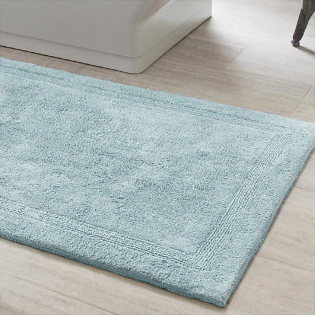 sky blue bath rug