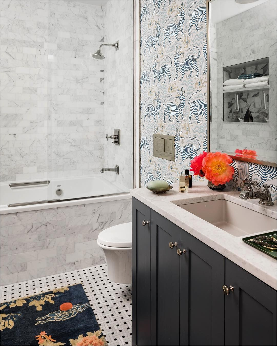 "Soho Loft Bath Rug Katierosenfelddesign On Instagram ""let S Stick An Antique"