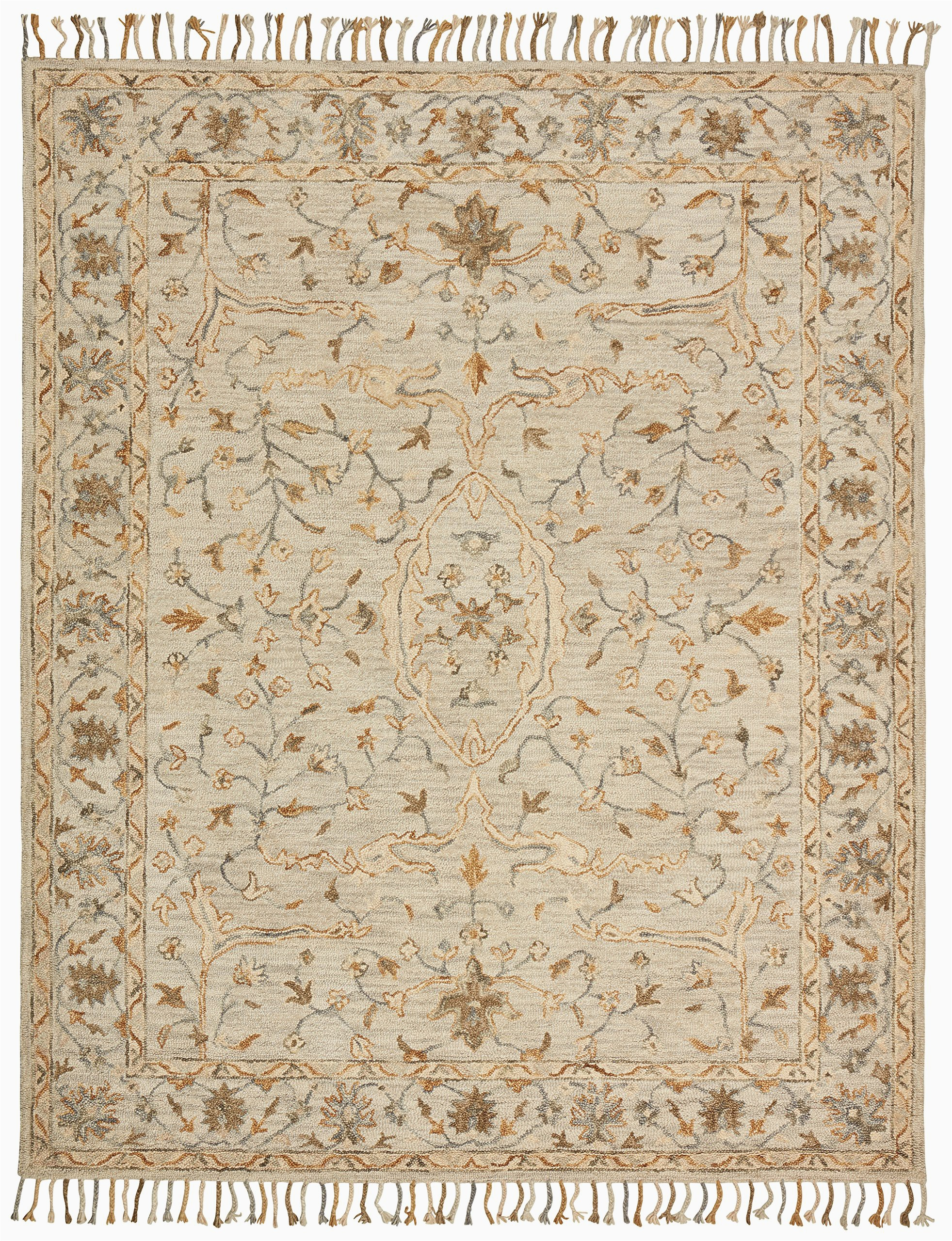 Stone and Beam area Rugs Amazon Brand – Stone & Beam Cooper Vintage Farmhouse Motif Wool area Rug 4 X 6 Foot Charcoal and Beige