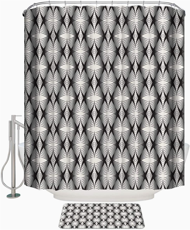 36 X 72 Bath Rug Amazon Com Shower Curtain Set with Bath Rug Simple