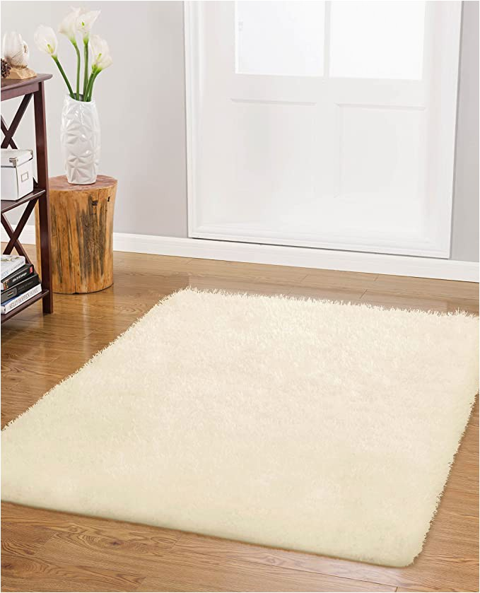 48 X 48 area Rug Vista Living Claudia Shag area Rug 30 X 48 In Ivory