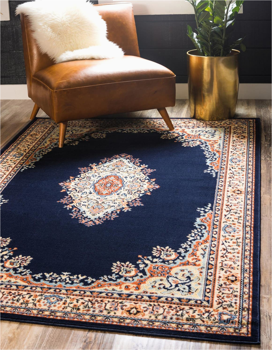 navy blue 5x8 amaya area rug 6246948