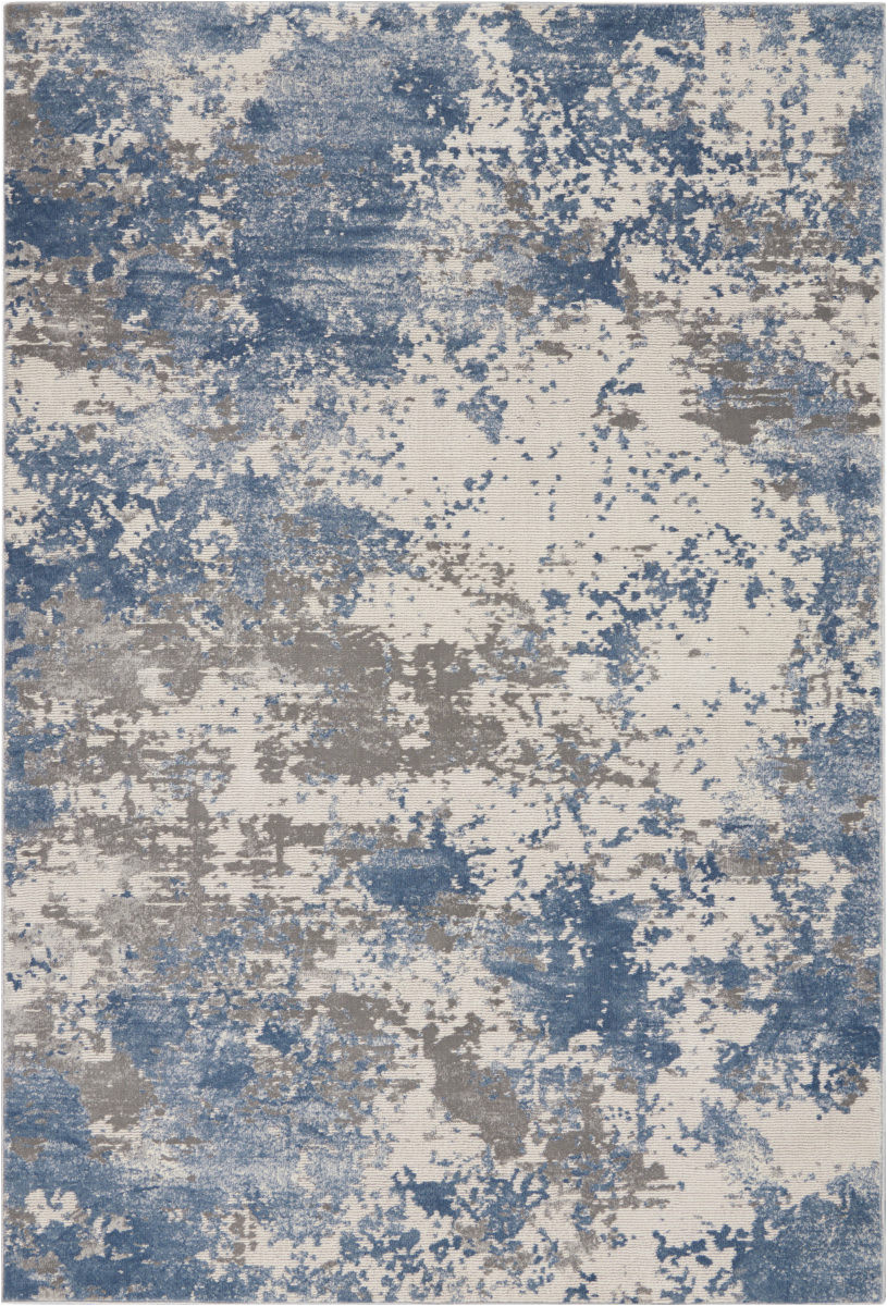 nourison rustic textures rus08 grey blue area rugx