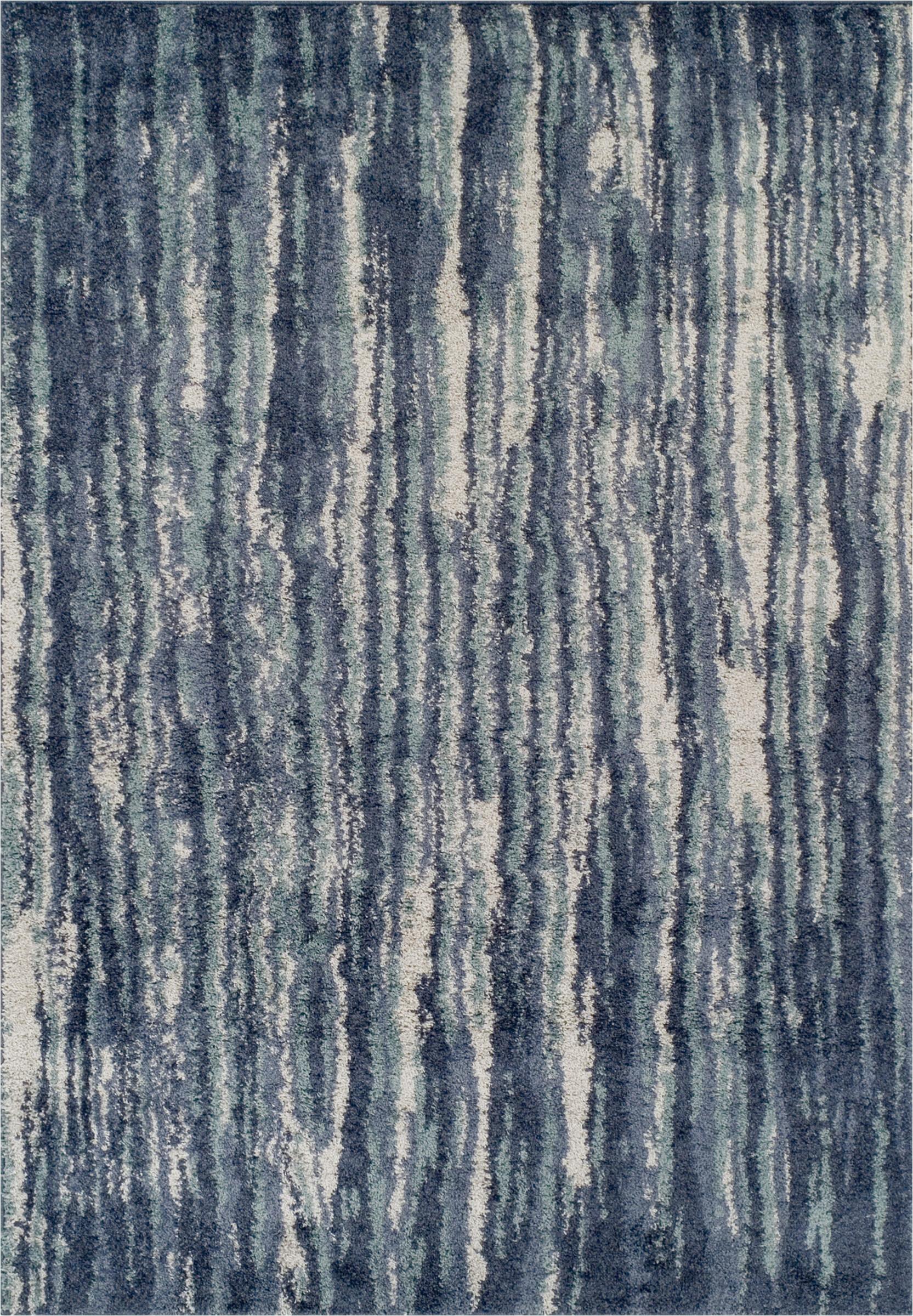 samella abstract bluegray area rug