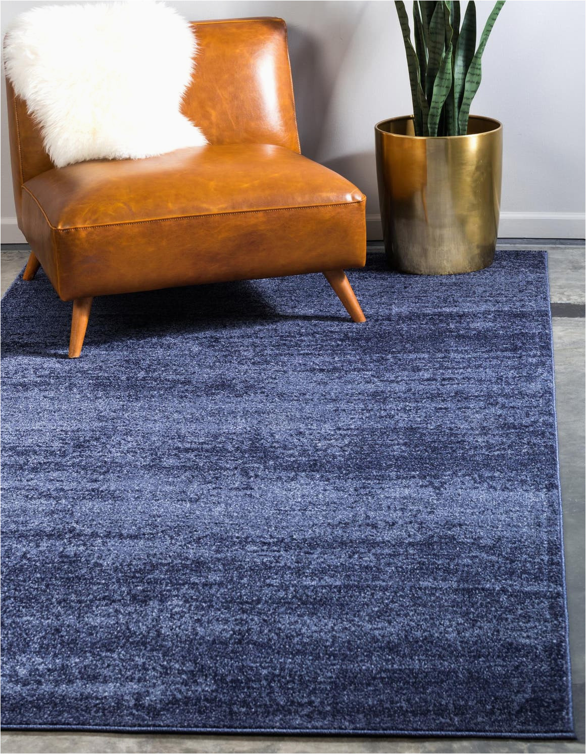 Blue and Navy Rug Navy Blue 6 X 9 Angelica Rug Rugs Com