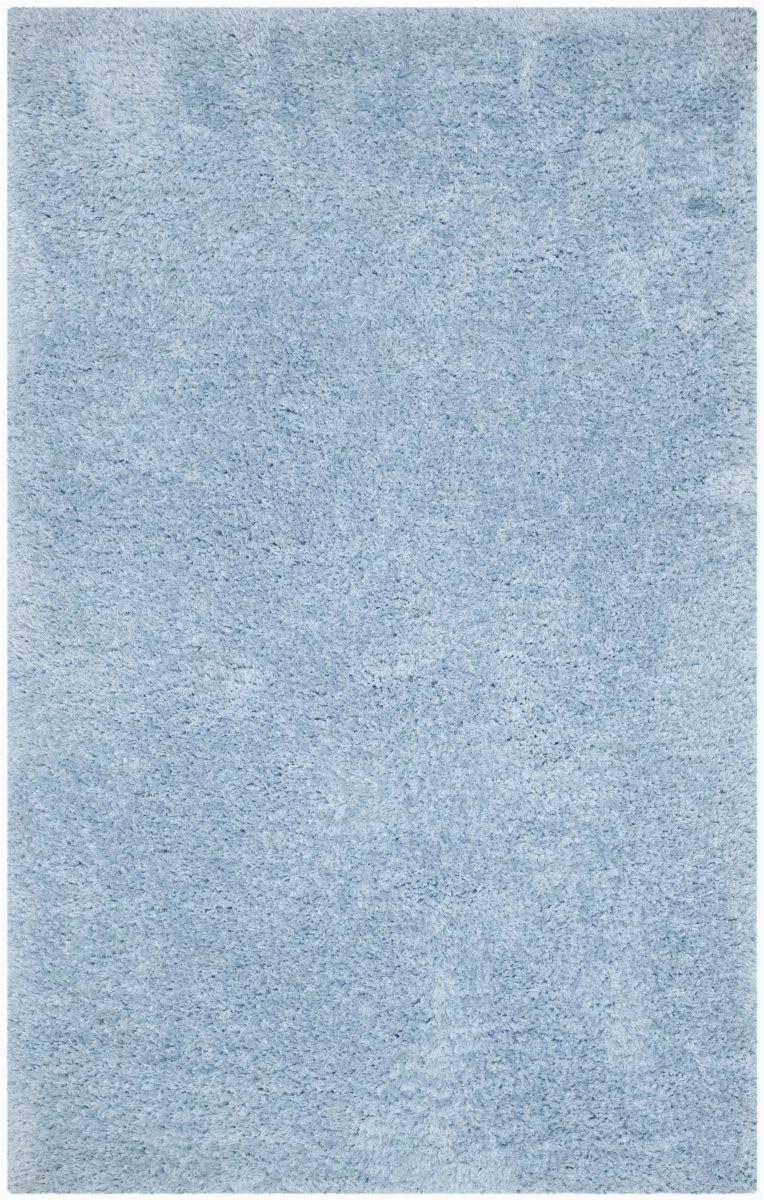 safavieh super shag sgs621d light blue area rugx