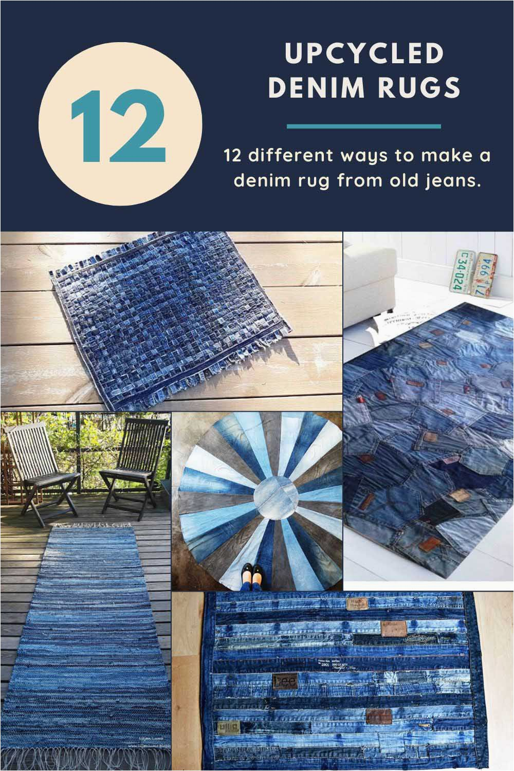 Blue Jean Rugs for Sale How to Make A Blue Jean Rug 12 Unique Ways Pillar Box Blue