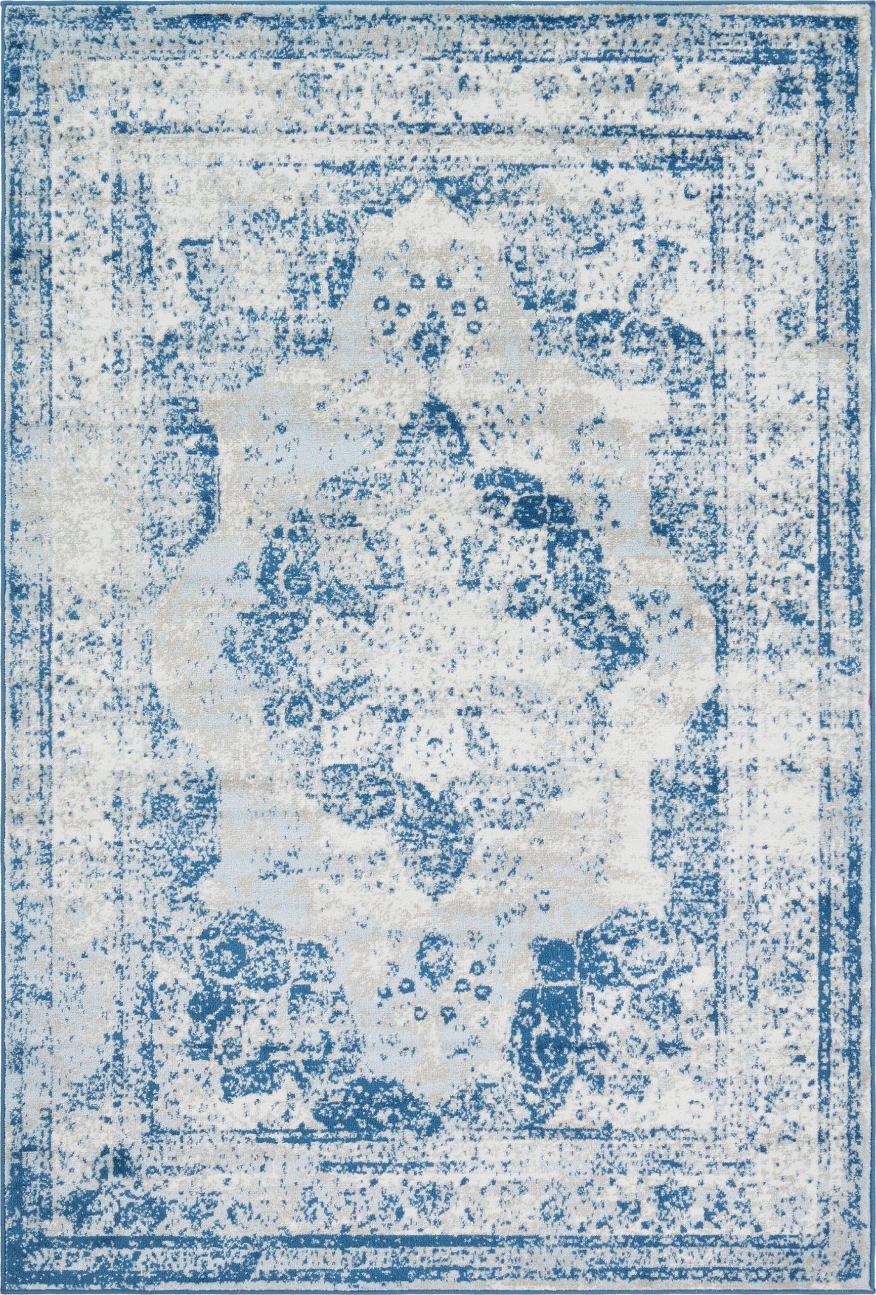 mistana brandt oriental blue area rug w002804088piid828054183