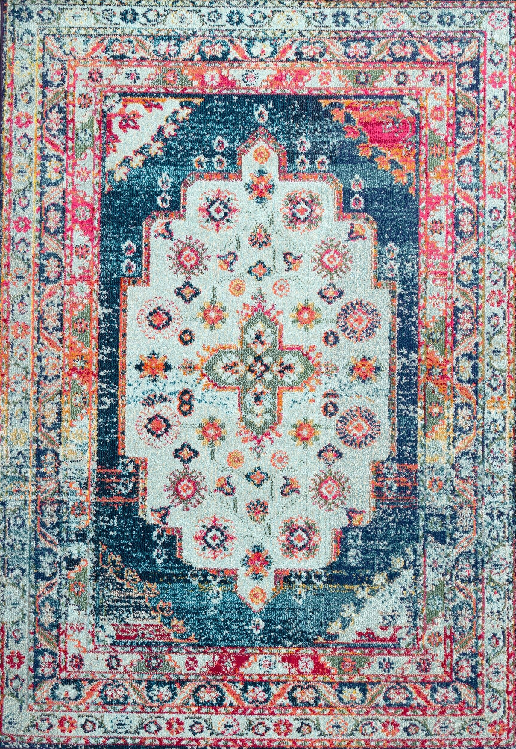 rogalski blue area rug