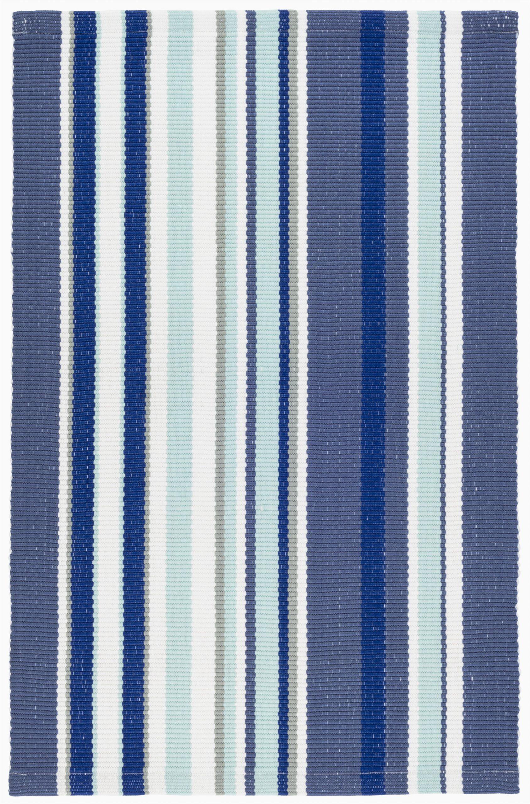 skyler striped handmade flatweave bluewhite indoor outdoor area rug