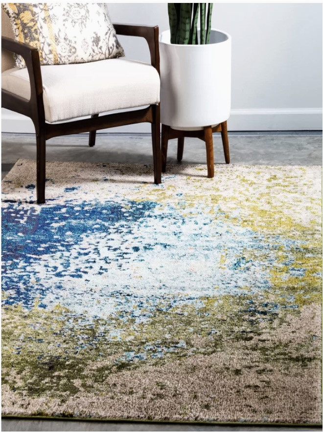 Hayes Blue area Rug Wayfair area Rugs Up to 80 Off