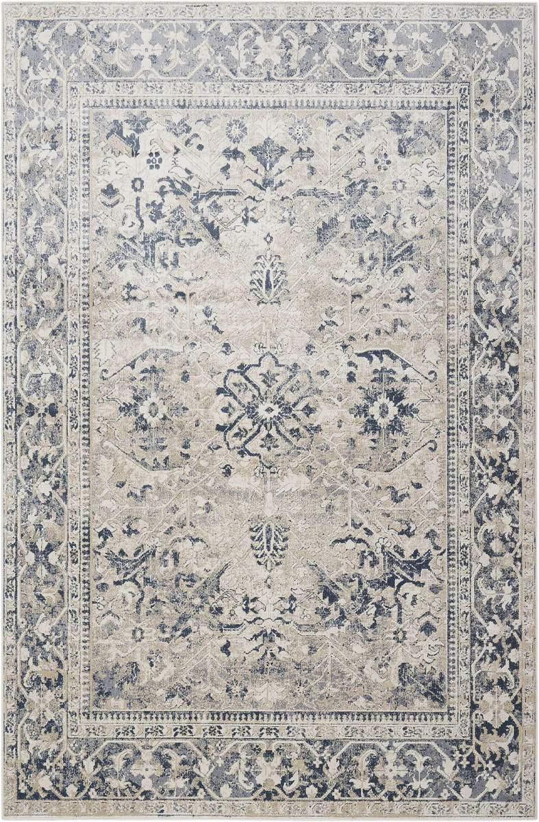 ki25 malta mai05 ivory blue rug