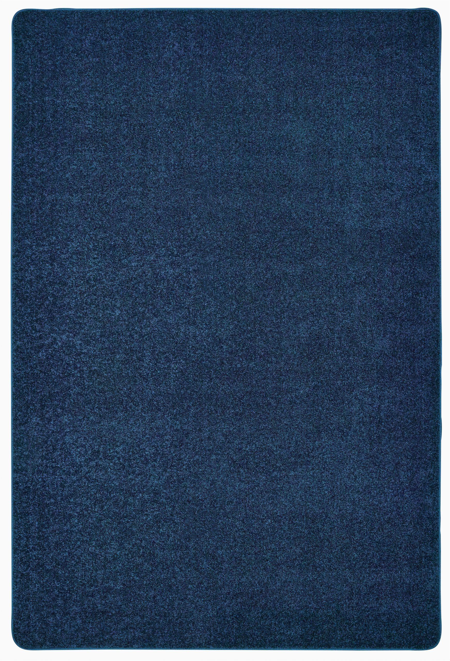kidplush solids deep sea blue area rug