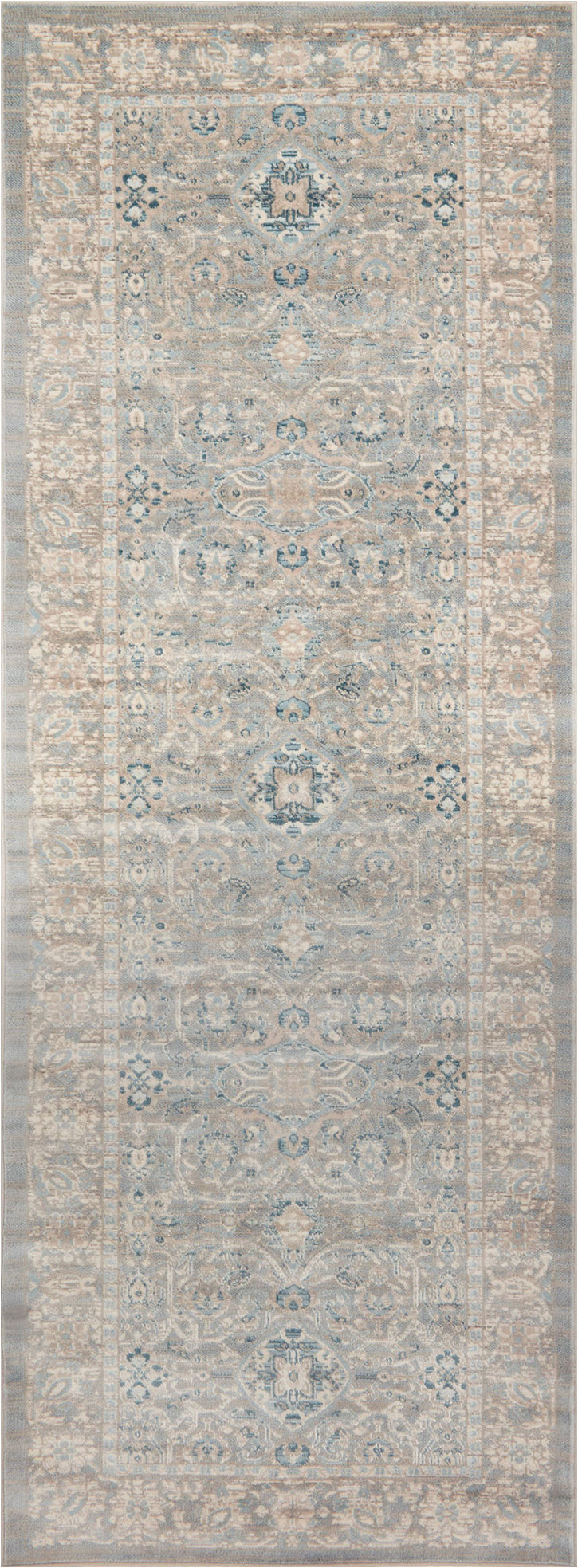 Magnolia Home Ella Rose Blue Rug Ella Rose Ej 04 Steel Steel area Rug Magnolia Home by Joanna Gaines