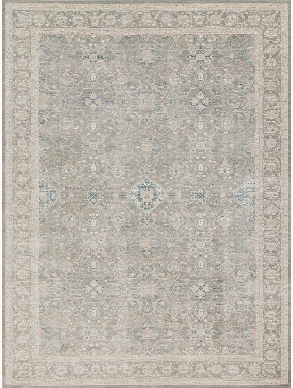 Magnolia Home Ella Rose Blue Rug Magnolia Home Ella Rose Ej 04 Steel Steel by Joanna Gaines