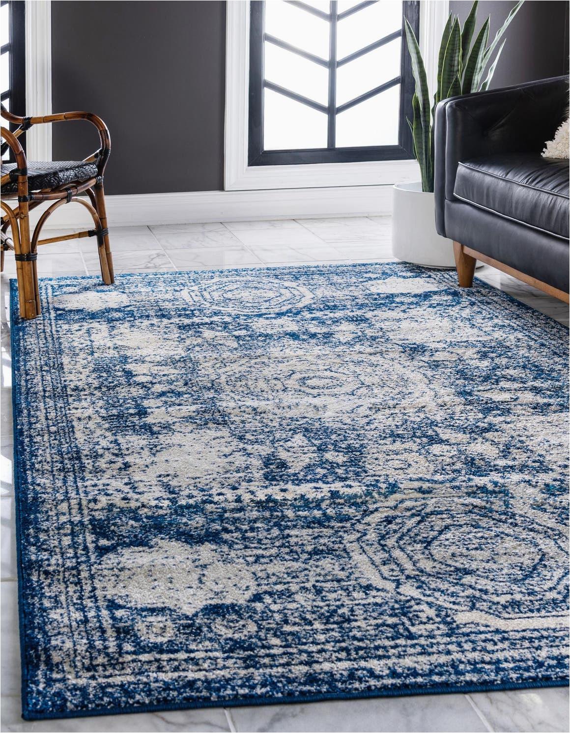 navy blue 3x5 dover area rug 6292738