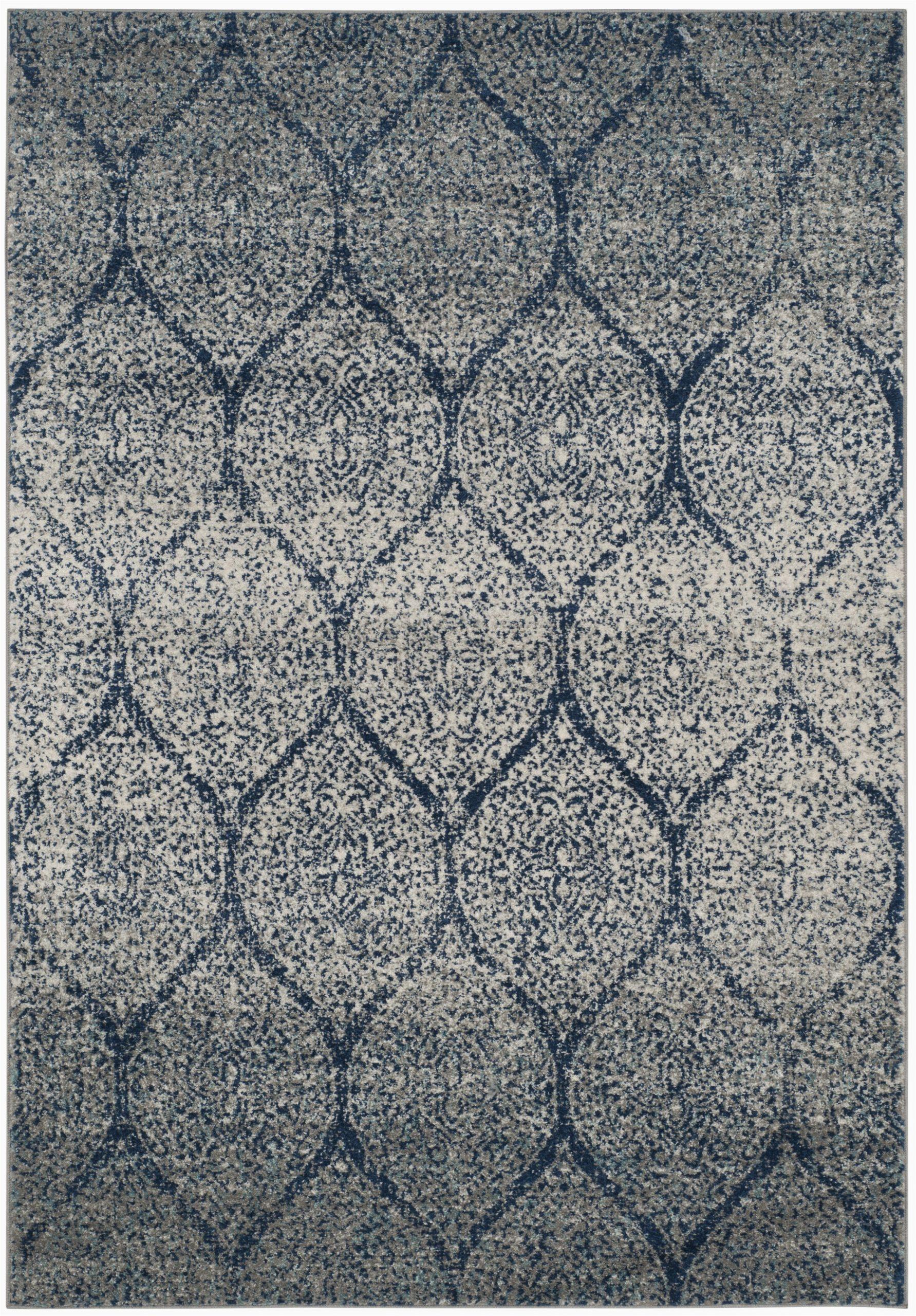 katie damask navy bluesilver rug
