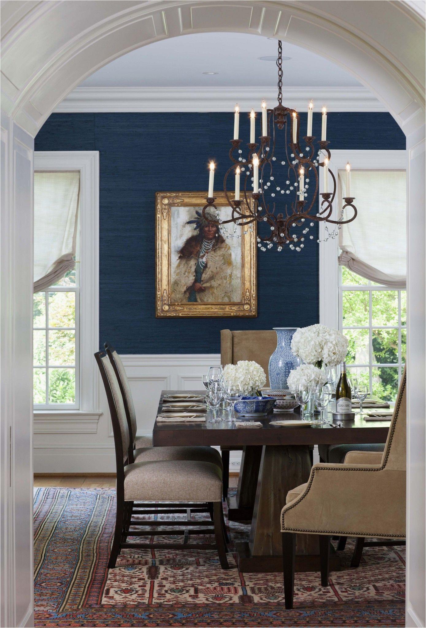 Navy Blue Dining Room Rug Kristin Peake Interiors Dining Room Dining Room
