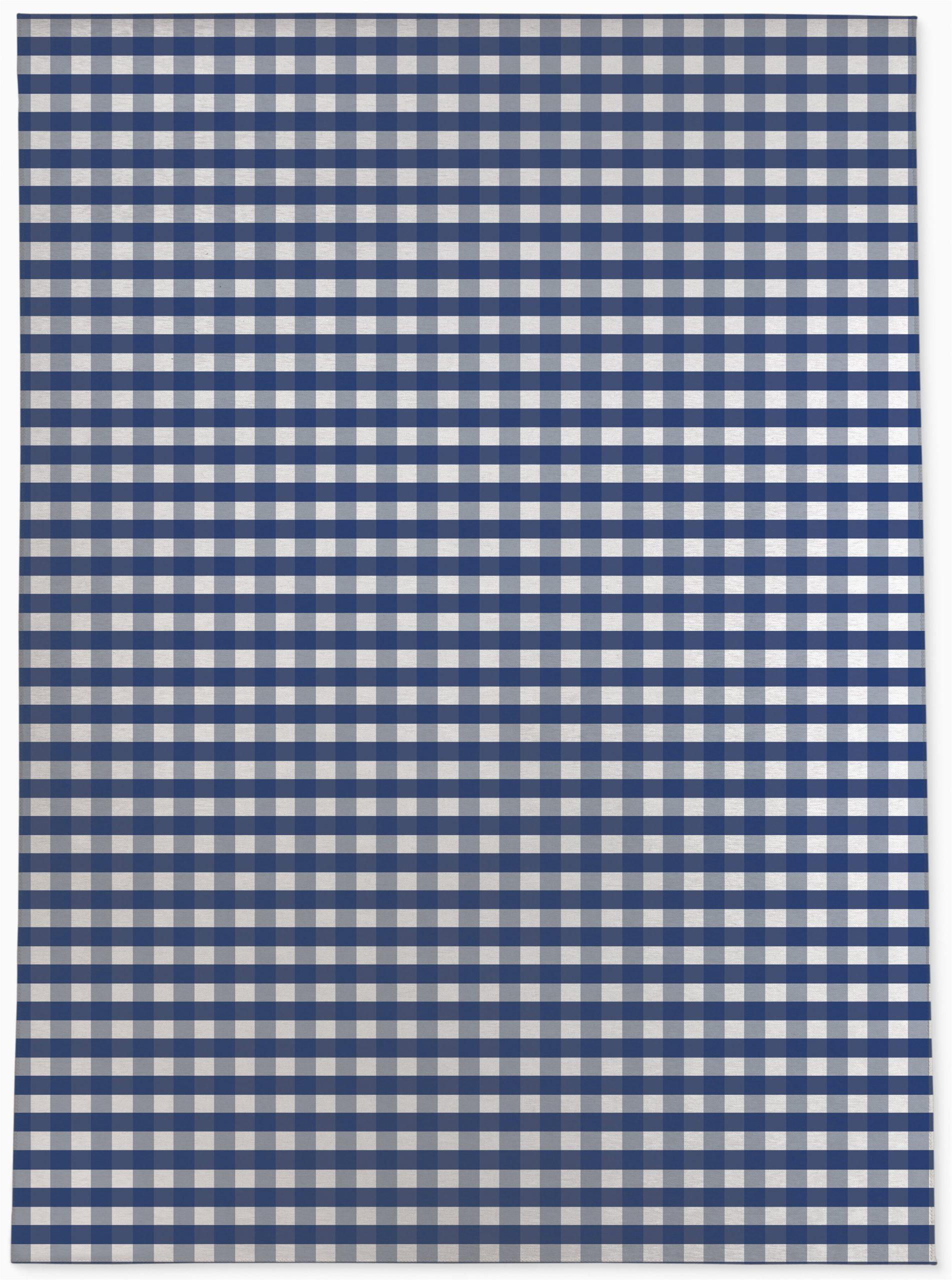 gracie oaks winslet plaid navyblue rug w002995693piid340254418