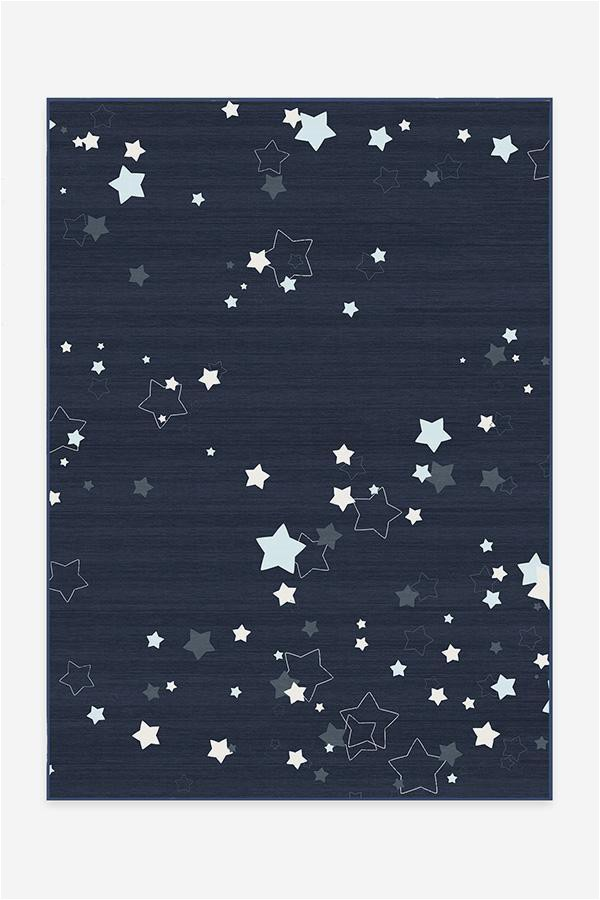 Navy Blue Star Rug Constellation Navy Rug