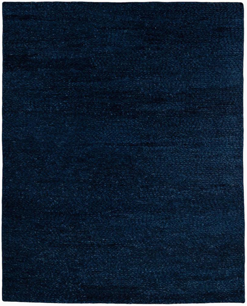 43280 ewv150a essential wool chunky soumak navy blue mohair blend rug 80x100 india 1
