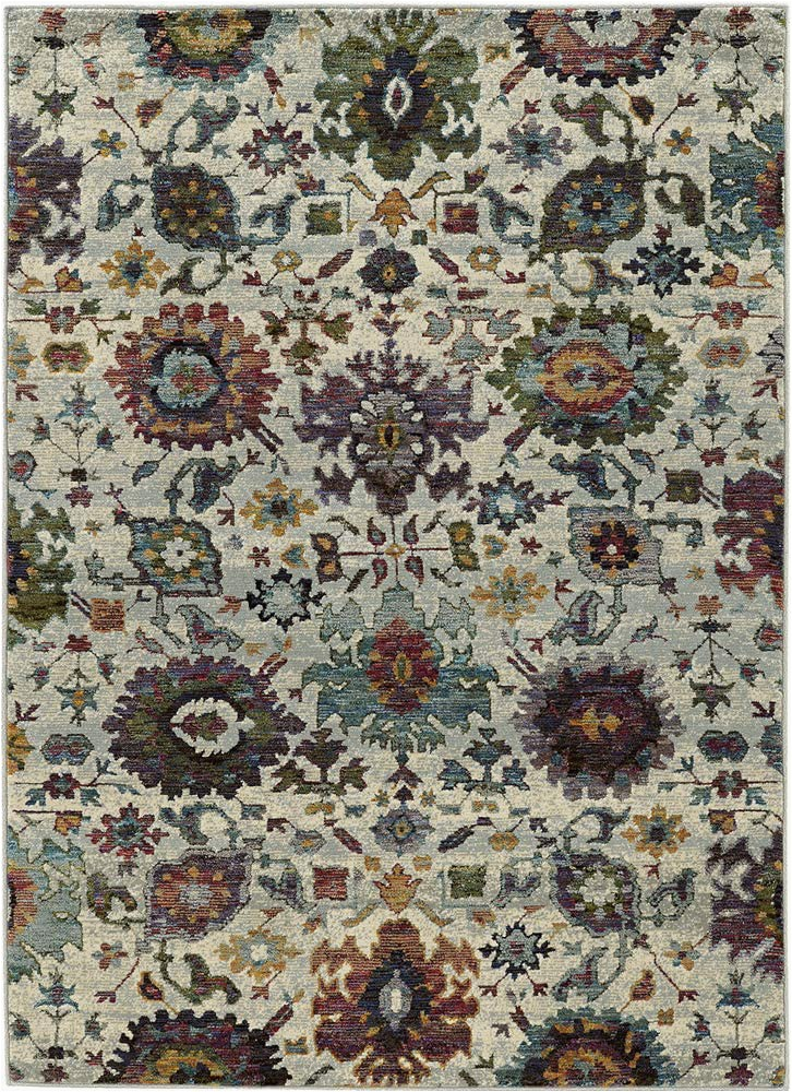 Oriental Weavers Of America Harper Multicolor Indoor area Rug Amazon oriental Weavers andorra 7129a Indoor area Rug