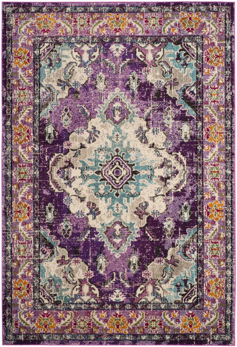 safavieh monaco mnc243l violet light blue area rugx